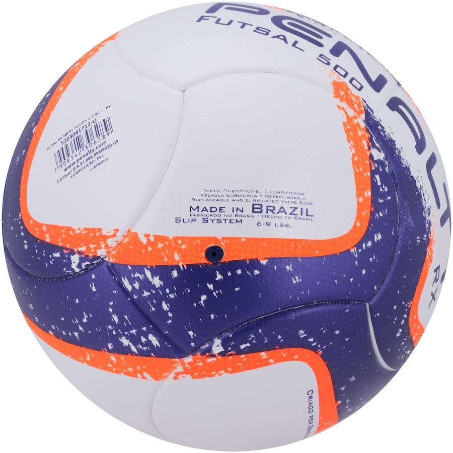 2baf08ac70 Bola de Futsal Penalty RX 500 R1 Ultra Fusion VIII