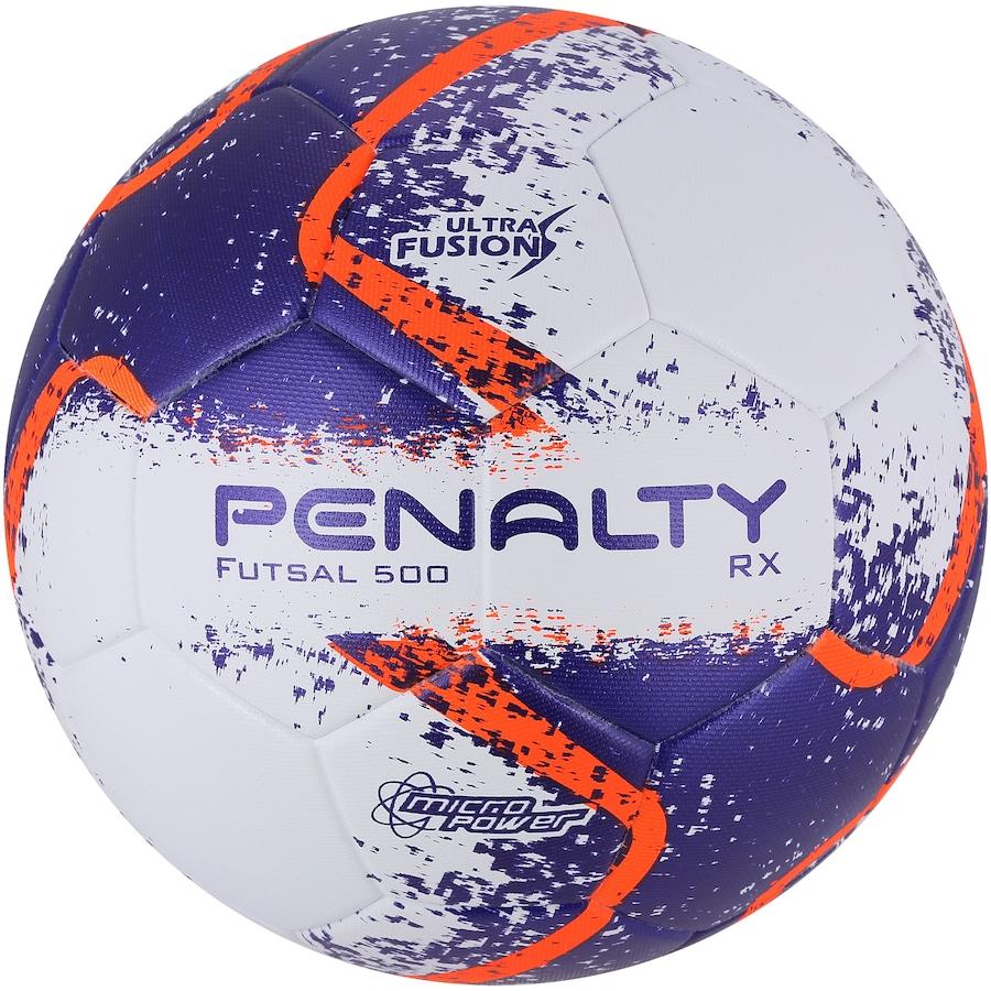 24b12b063 Bola de Futsal Penalty RX 500 R2 Ultra Fusion VIII