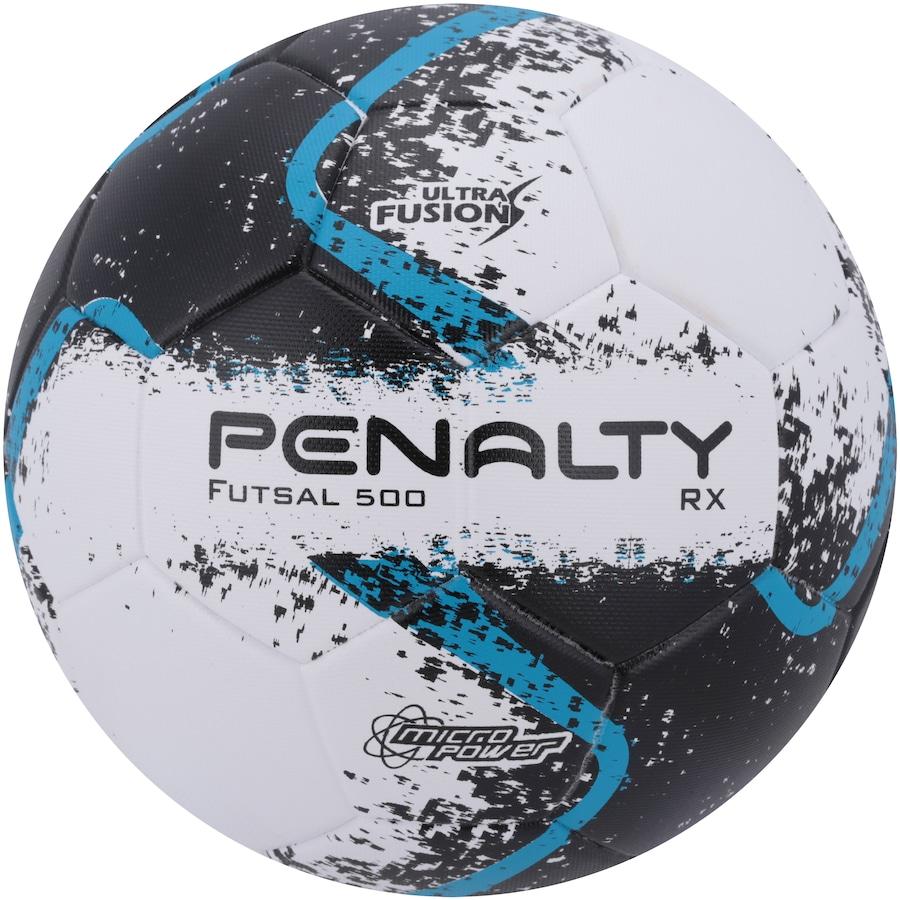 1d0f49df65 Bola de Futsal Penalty RX 500 R2 Ultra Fusion VIII