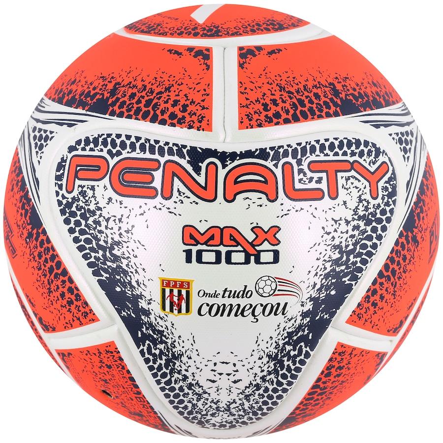 a60c5308122ad Bola de Futsal Penalty Max 1000 FPFS VIII