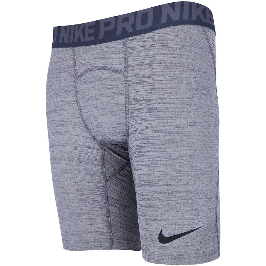 Bermuda de Compressão Nike Pro Heather - Masculina 7e7b620083b1f