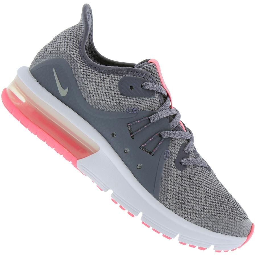 new product 5c6cf b7c8d Tênis Nike Air Max Sequent 3 Feminino - Infantil