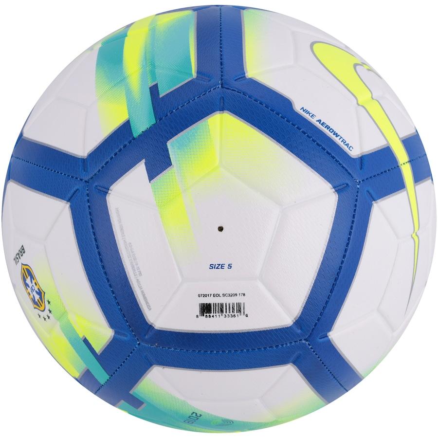 Bola de Futebol de Campo do Brasil Nike CBF Strike a56d921a0d3a5