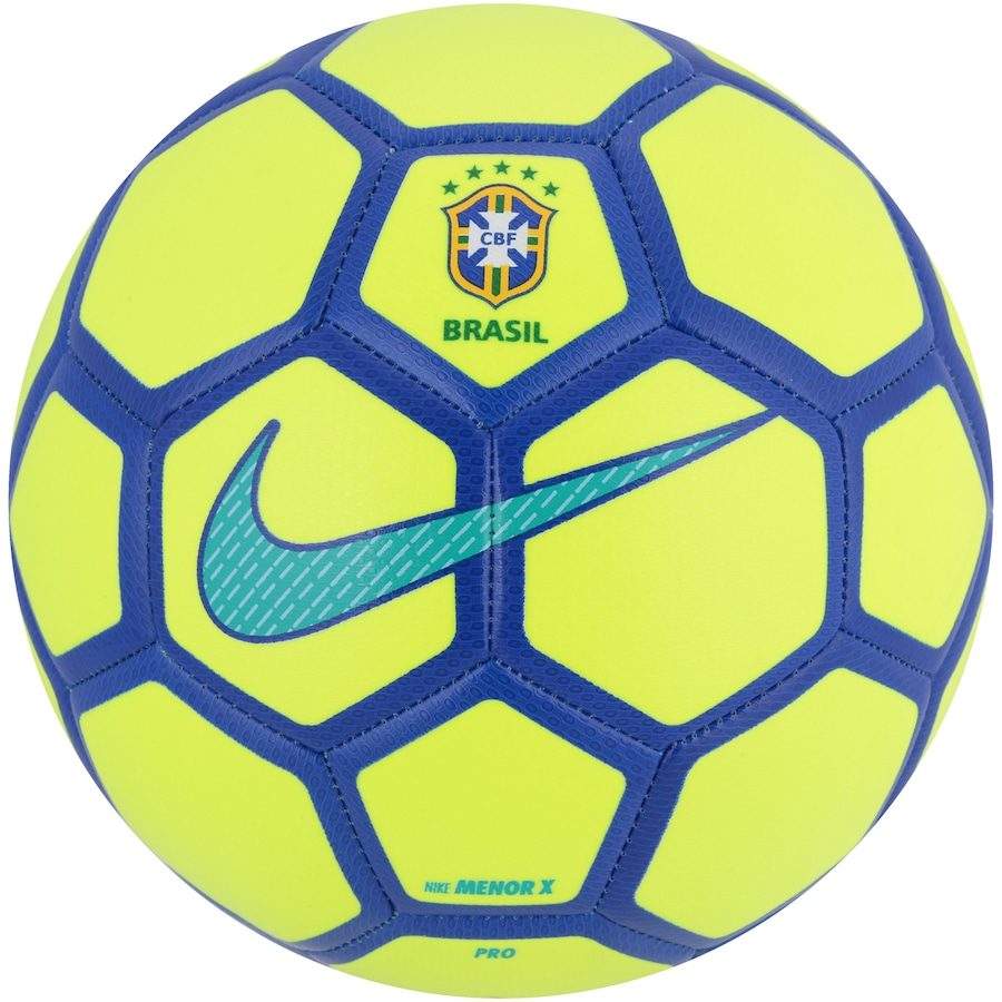 8fbfe77fec3da Bola de Futsal do Brasil Nike CBF Menor