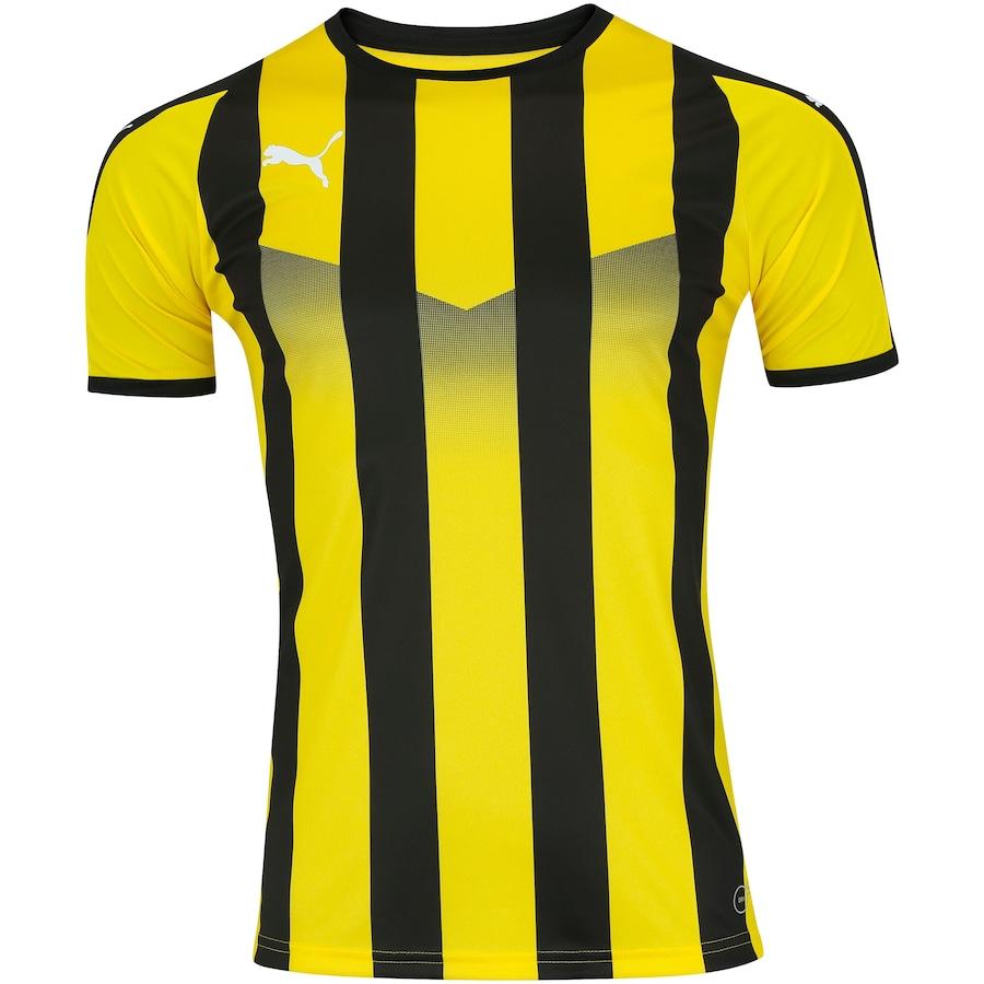 Camisa Puma Liga Jersey Striped - Masculina c14c127c79edb
