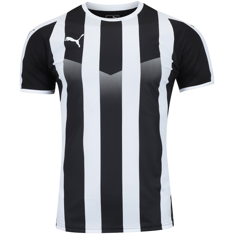 Camisa Puma Liga Jersey Striped - Masculina. undefined b62d4143d906