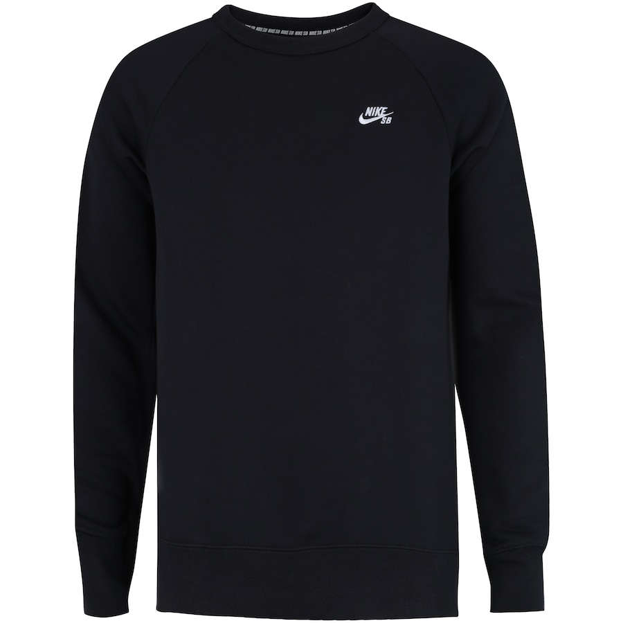 6fbdf579b4 Blusão de Moletom Nike SB Icon Crew Fleece - Masculino