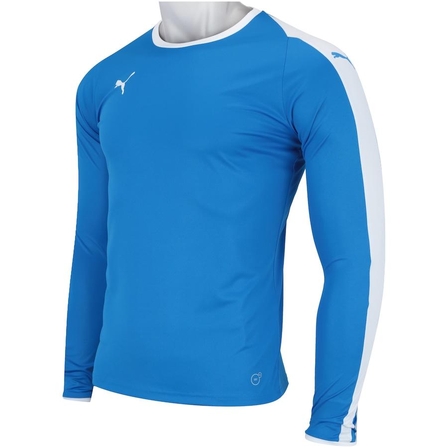 Camisa Manga Longa Puma Liga Jersey LS - Masculina 26ddc31161394