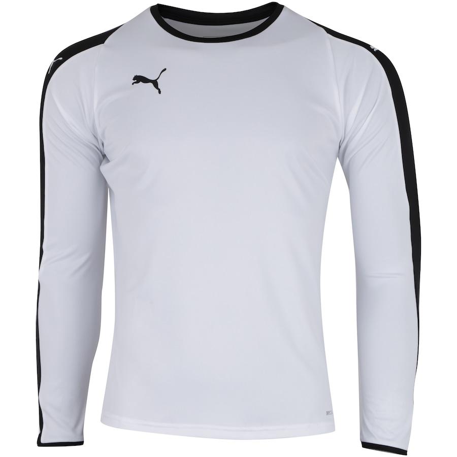 03b95bf3116 Camisa Manga Longa Puma Liga Jersey LS - Masculina