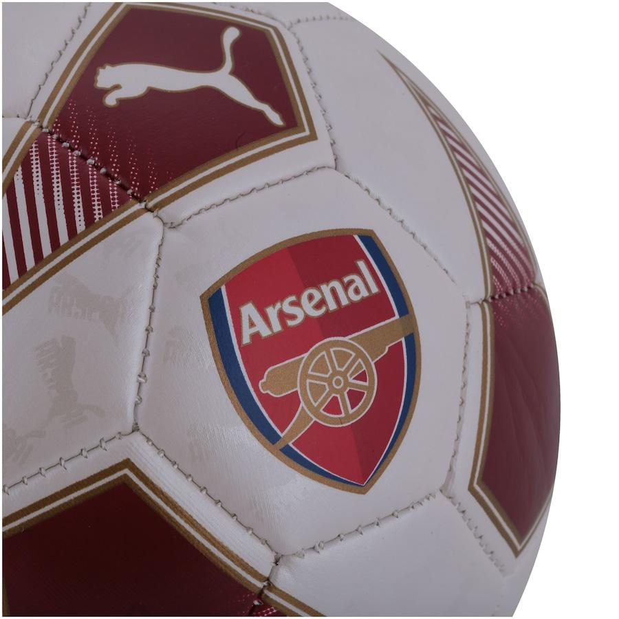 Minibola de Futebol de Campo Arsenal Puma Fan Ball - Infantil cf1f7938a4
