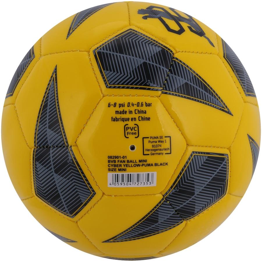 Minibola de Futebol de Campo Borussia Dortmund Puma Fan Ball - Infantil 5c9f1433ee813