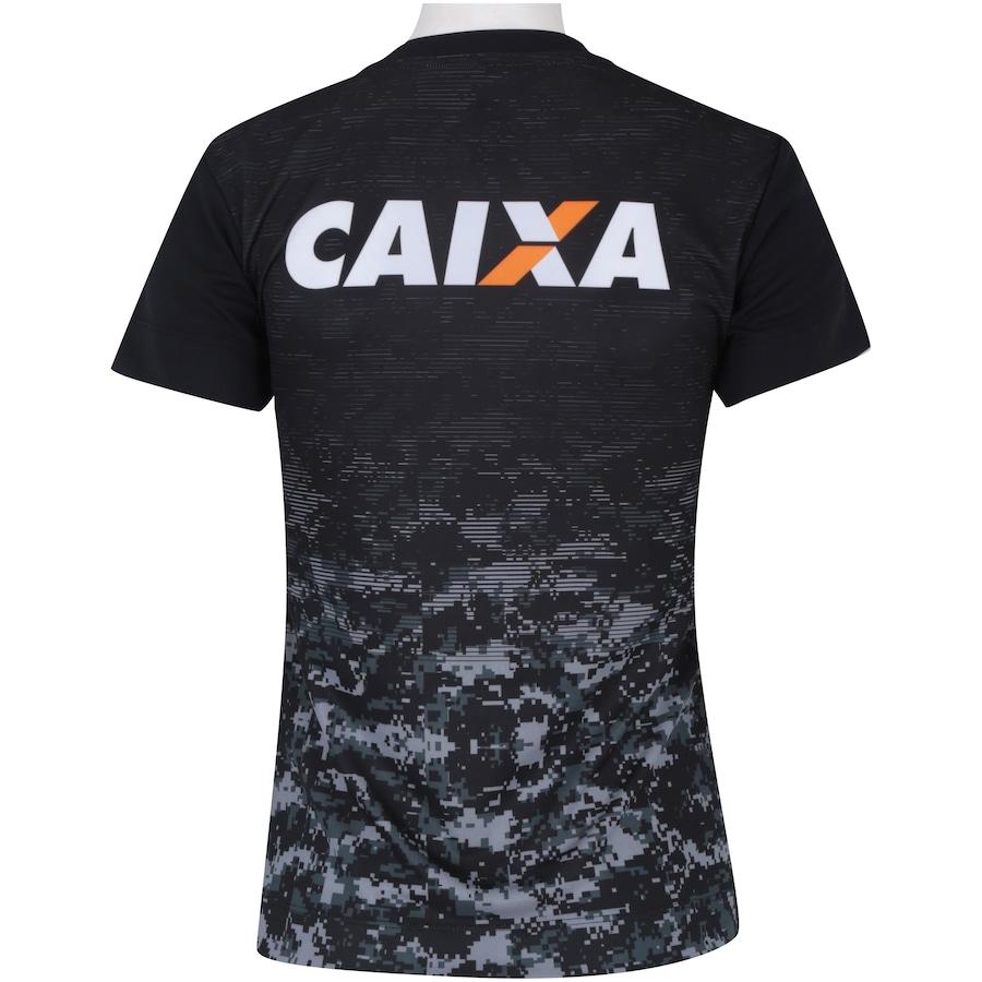 c090571a95 Camisa do Botafogo Aquecimento 2017 Topper - Feminina