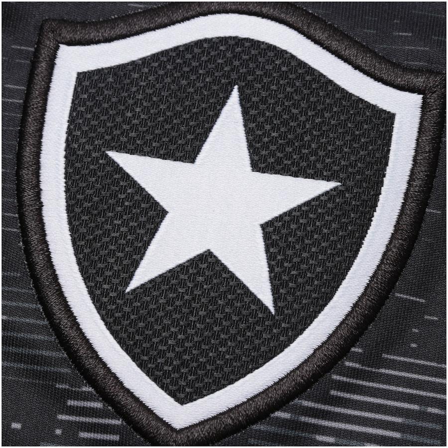 Camisa do Botafogo Aquecimento 2017 Topper - Feminina 84c9b339de4f6