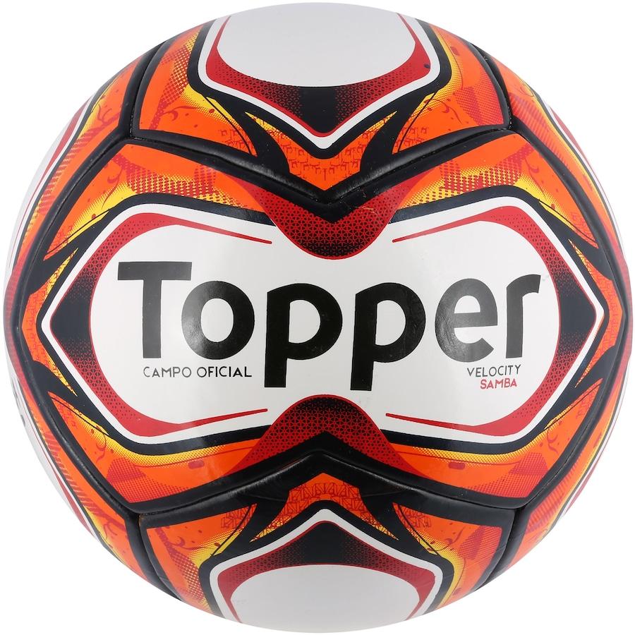 Bola de Futebol de Campo Topper Samba Velocity TD1 2018 dc9f14d0af2a7