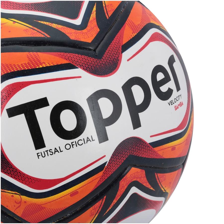 39a8578707 Bola de Futsal Topper Samba TD1 2018