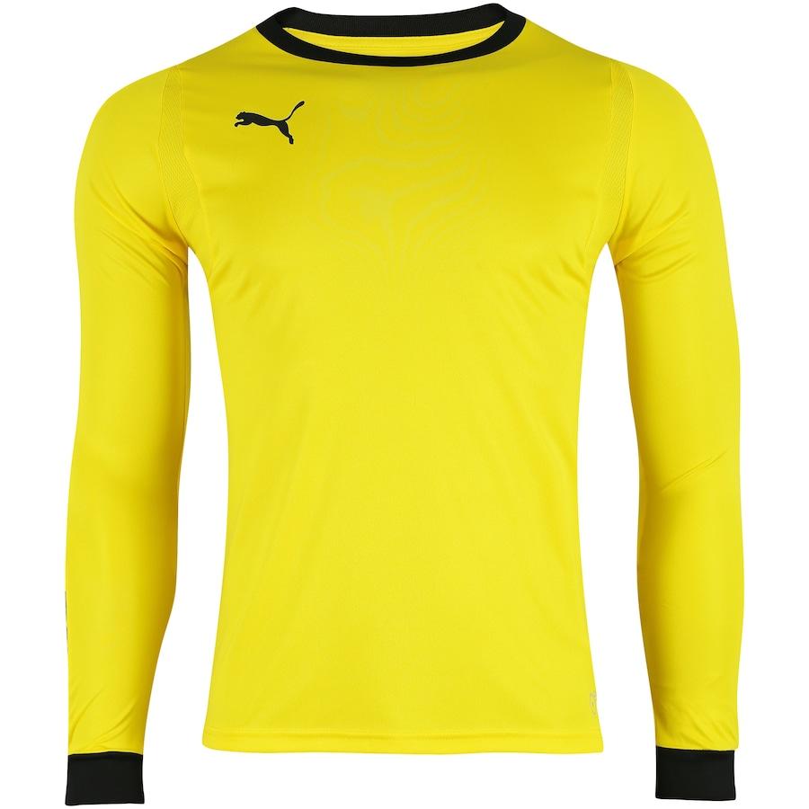 Camisa de Goleiro Manga Longa Puma Liga - Masculina cfccddc6e07e1