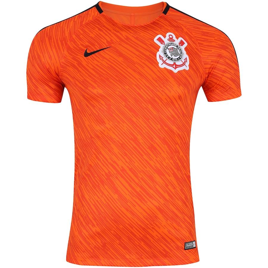 Camisa de Treino do Corinthians 2018 Nike - Masculina 87a37add47435
