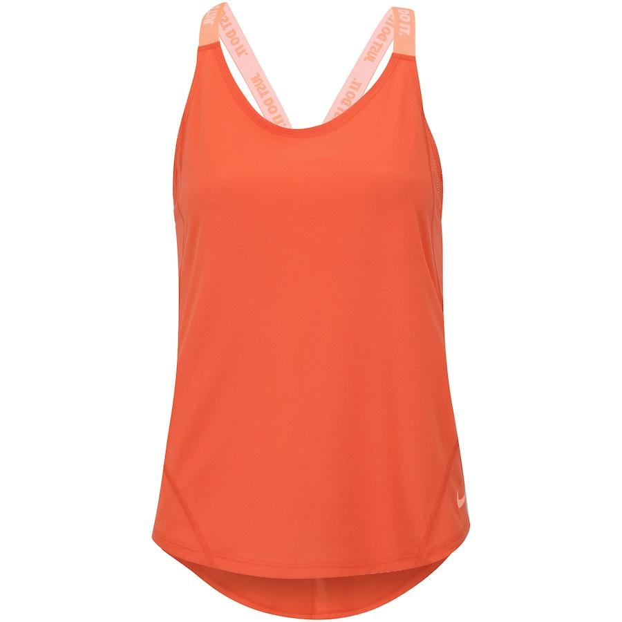 013ad239c1 ... Regata Nike Dry Elastka Tank - Feminina. Imagem ampliada ...
