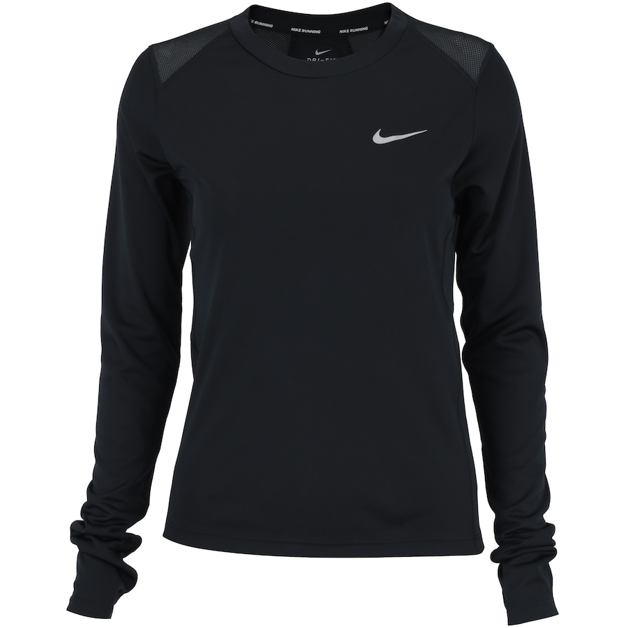fa9f85e2c7e88 Camiseta Manga Longa Nike Miler LS - Feminina
