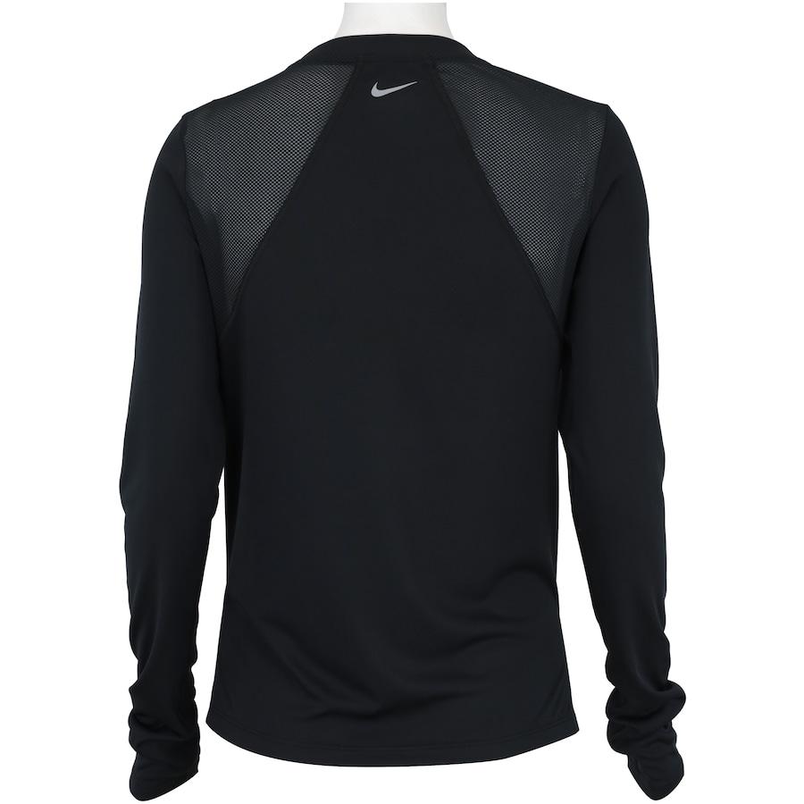 Camiseta Manga Longa Nike Miler LS - Feminina 5438655b82983