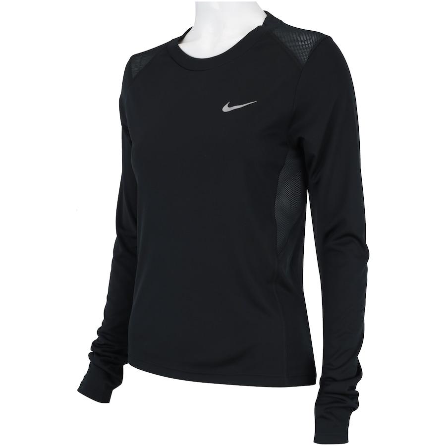 e824e8be1c Camiseta Manga Longa Nike Miler LS - Feminina