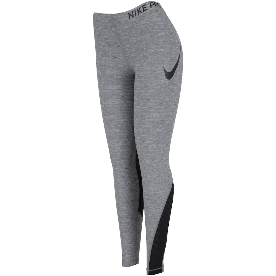 68e52b51e12e1 Calça Legging Nike Pro Tight Heather - Feminina