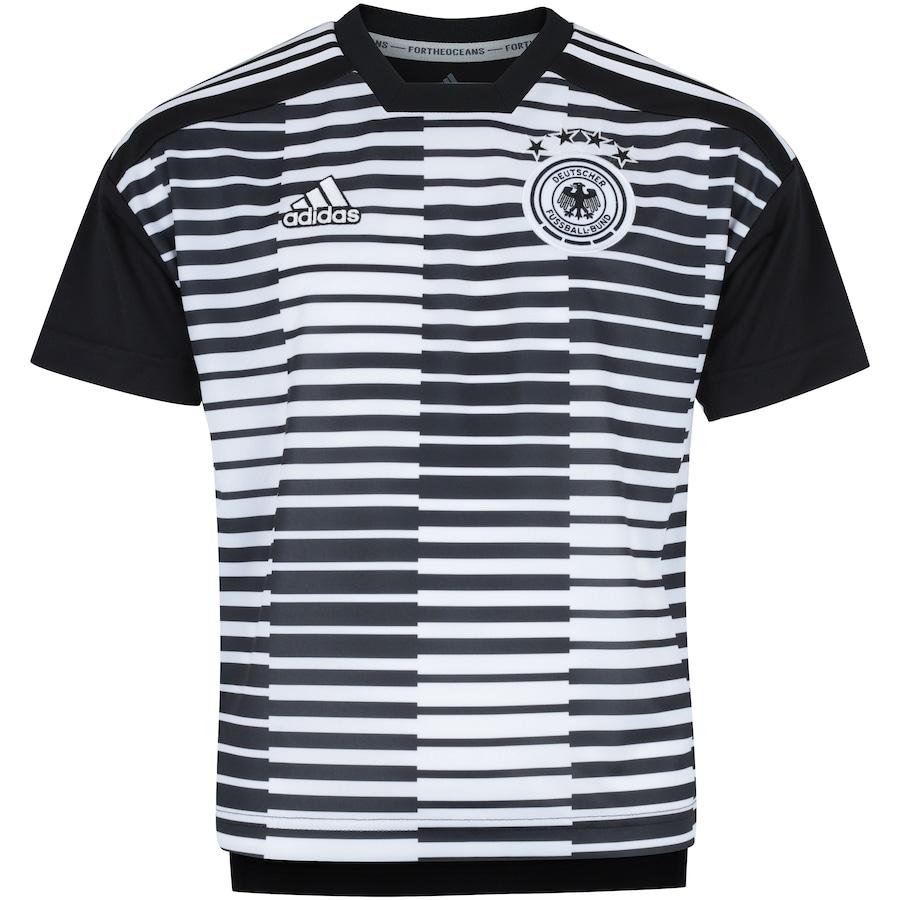 6eb1d1d594 Camisa Pré-Jogo Alemanha 2018 adidas - Infantil