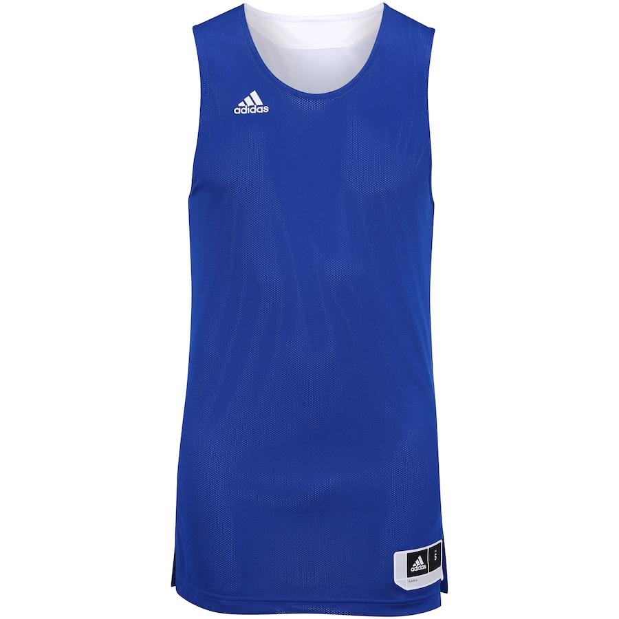 c318c3c500 Camiseta Regata de Treino adidas Dupla Face - Masculina