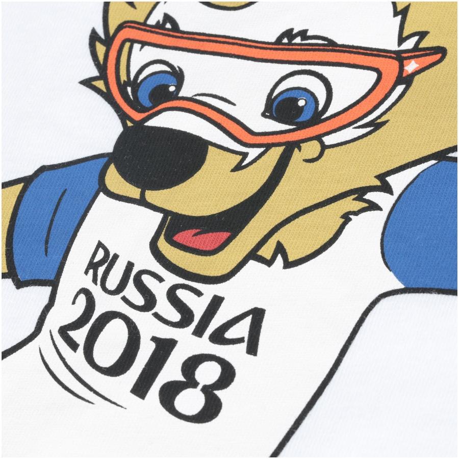 Camiseta adidas Mascote da Copa do Mundo FIFA 2018 - Infantil 9dc239c9c18