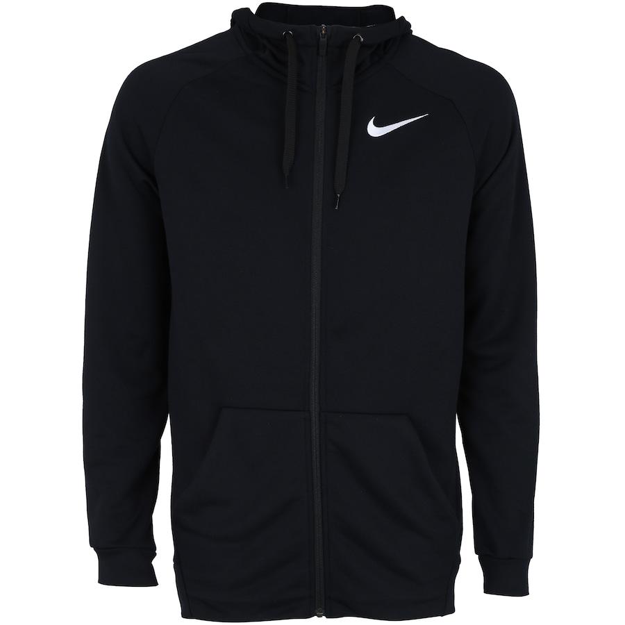 Jaqueta com Capuz Nike Dry Hoodie FZ com Forro em Fleece - Masculina 4caa34bc57a16