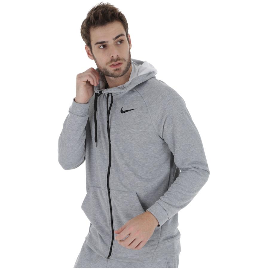 345f65a7a2 Jaqueta com Capuz Nike Dry Hoodie FZ com Forro em Fleece - Masculina