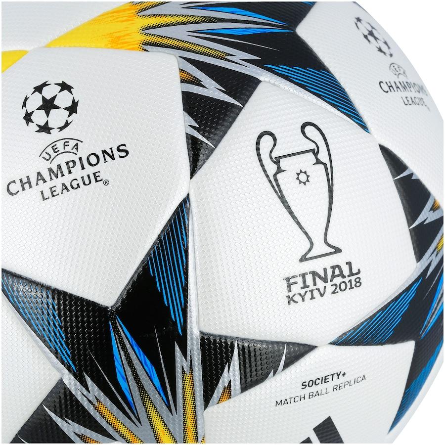 Bola Society adidas Final da Champions League 2018 Kiev Top f2a25c1f05be6