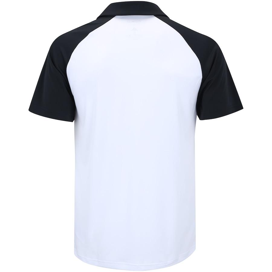 d8e9f1330c Camisa Polo com Proteção Solar UV adidas Club Colorblock TD - Masculina