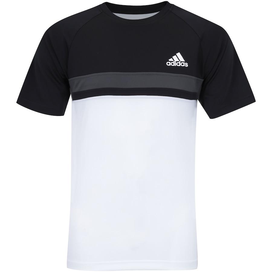 0652f13c05 Camiseta com Proteção Solar UV adidas Club Colorblock TD - Masculina