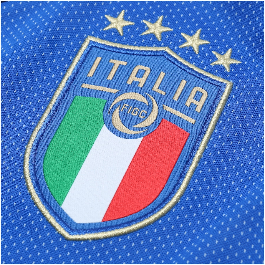 4c7dfff036 Camisa Itália I 2018 Puma - Masculina