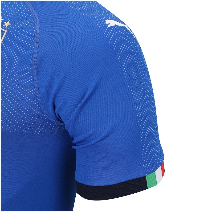 2fef3b1529 Camisa Itália I 2018 Puma - Masculina