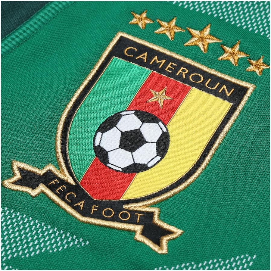 Camisa Camarões I 2018 Puma - Masculina 6e991a8d1a2cf