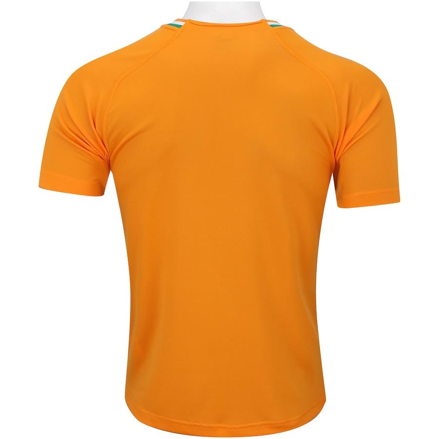 Camisa Costa do Marfim I 2018 Puma - Masculina 7bafc72c56