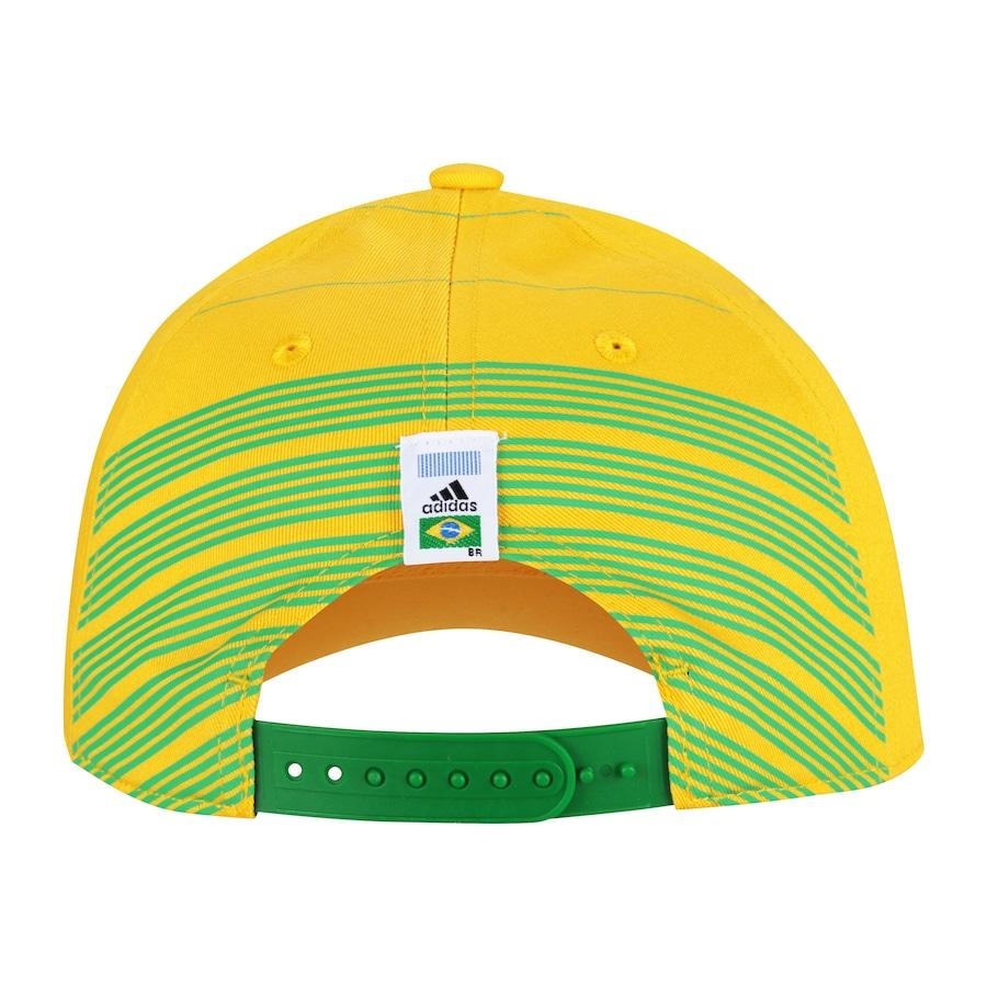 Boné Aba Curva do Brasil 3S adidas - Snapback - Adulto f71247479b95a