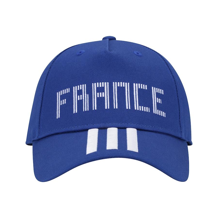 Boné Aba Curva França 3S 2018 adidas - Snapback - Adulto 94d9a6853eede