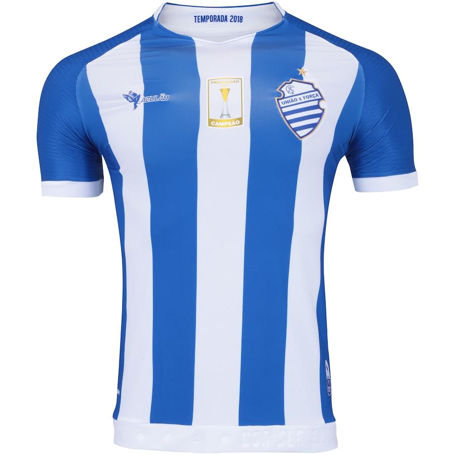 Camisa do CSA I 2018 nº 10 Azulão - Masculina f729238e061