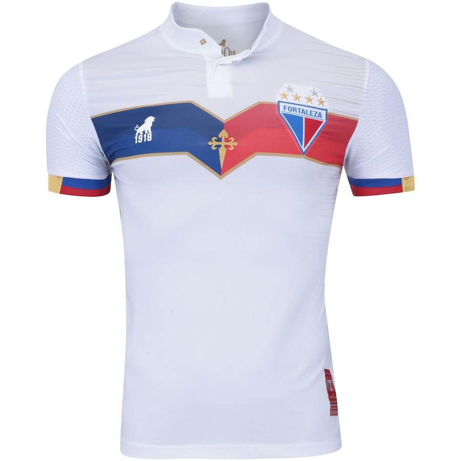 2004a4bcf77d0 Camisa do Fortaleza 2018 nº 100 Edição Centenário Leão - Masculina