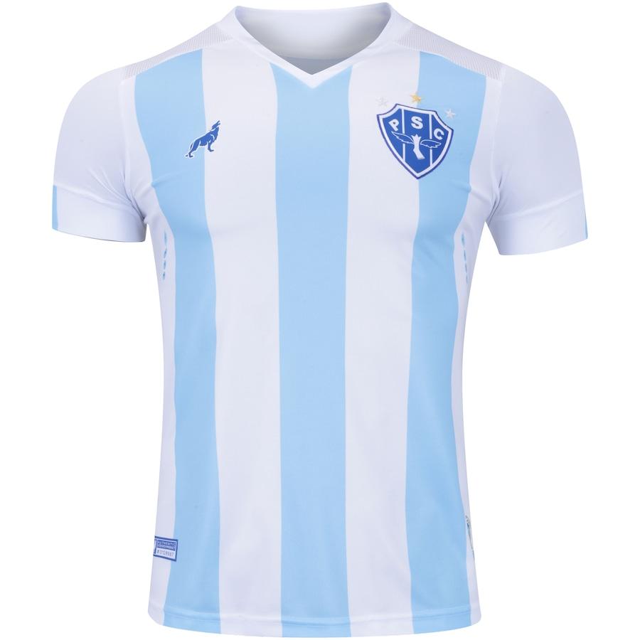 Camisa do Paysandu I 2018 nº 7 Lobo - Masculina 98d0c5ee01522