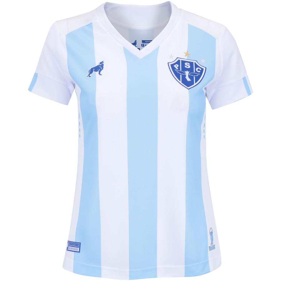 Camisa do Paysandu I 2018 nº 7 Lobo - Feminina 0bb09a27cab07