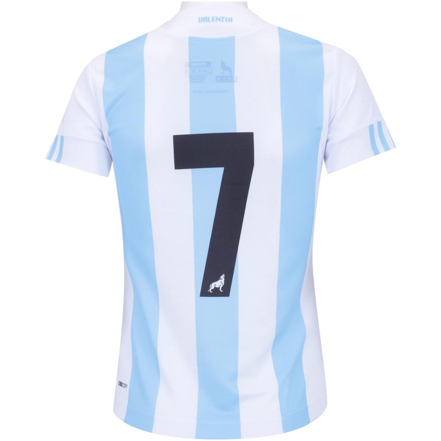 Camisa do Paysandu I 2018 nº 7 Lobo - Feminina 2e437dafa6152