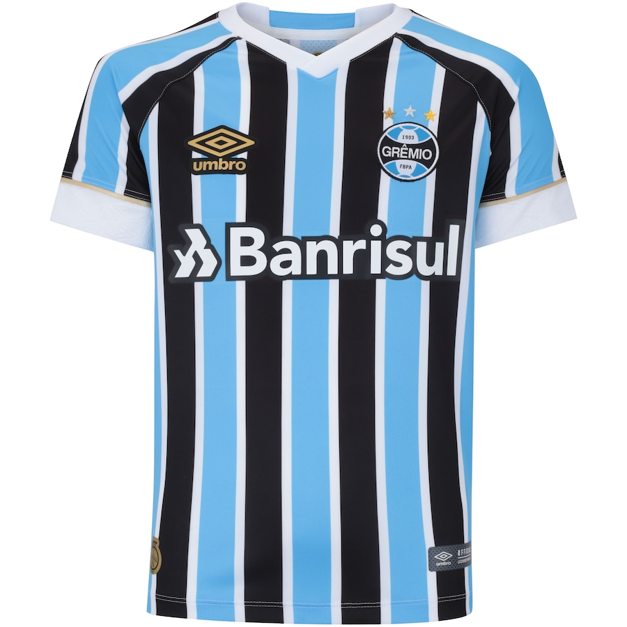 d07343271 Camisa do Grêmio I 2018 Umbro - Infantil