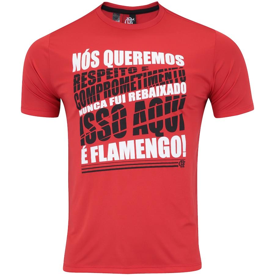 f74f3bbb98 Camiseta do Flamengo Respect - Masculina
