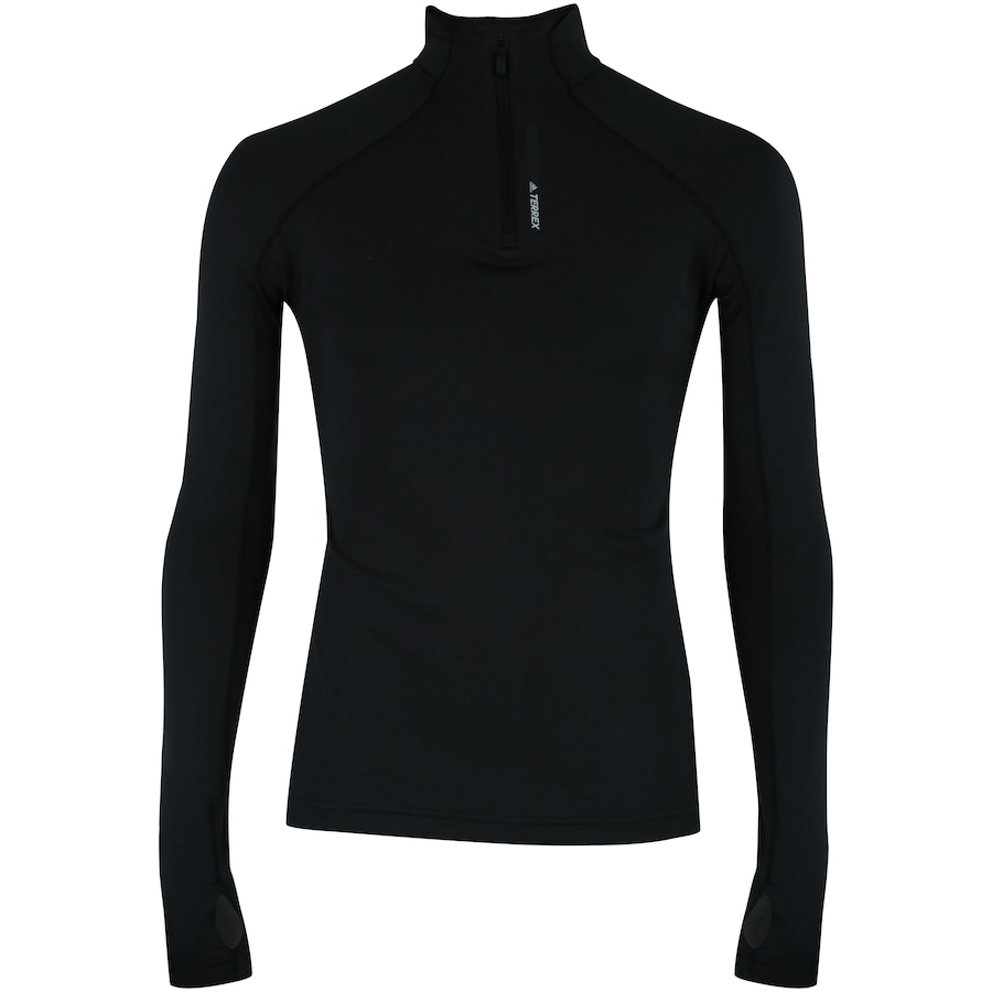babe3bbee0 Camisa Térmica Manga Longa adidas Terrex Tracerocker com Gola Alta -  Feminina