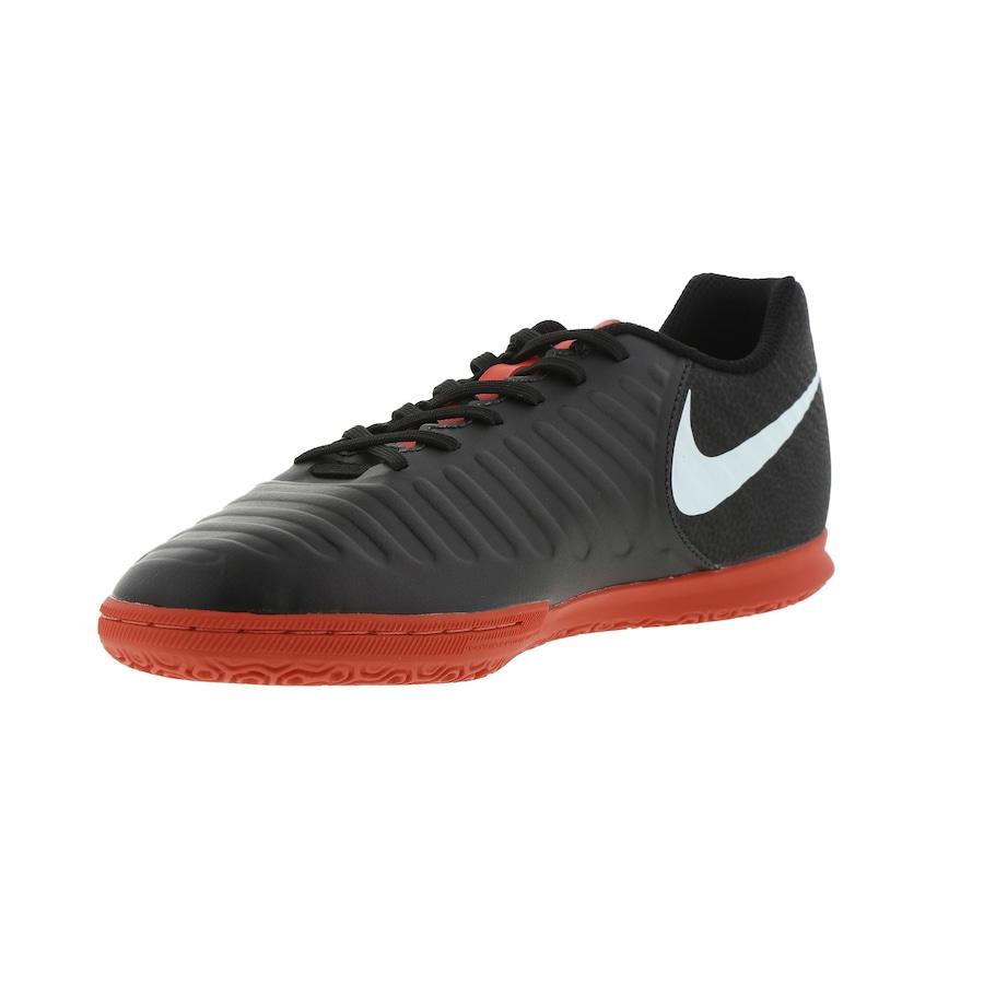 7e19b577fa Chuteira Futsal Nike Tiempo Legend X 7 Club IC - Adulto