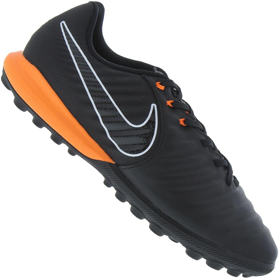Chuteira Society Nike Tiempo Lunar Legend X 7 Pro TF - Adulto d0330127403cf